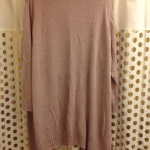 Old Navy Sweaters - Old Navy Long Liliac Cardigan 4X Plus size EUC